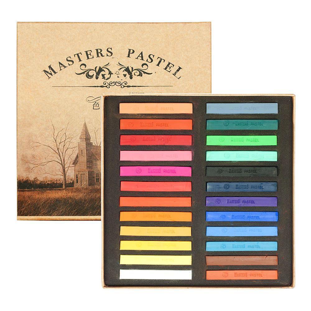 Mua Phấn tiên 24 màu, Maries Master Soft Pastelsset 24