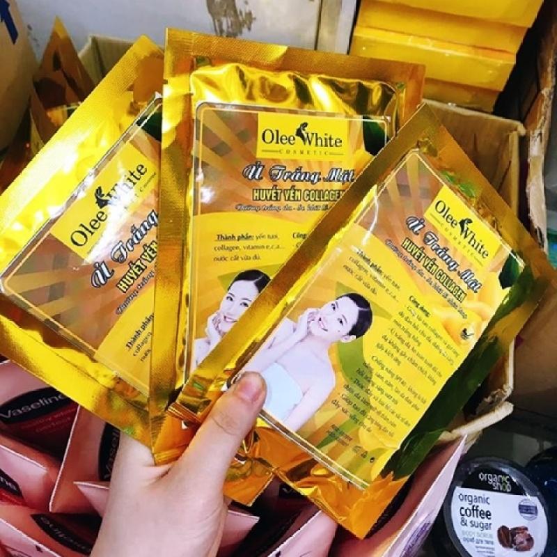 Ủ Trắng Huyết Yến Collagen Olee white bịch to – GV259 nhập khẩu