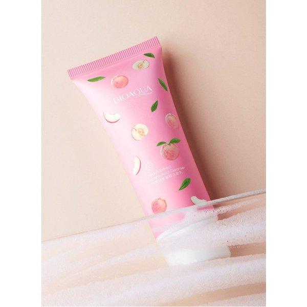 [HCM]Sữa rửa mặt hương đào tươi Bioaqua giúp da sạch sâu và dưỡng ẩm da giá rẻ