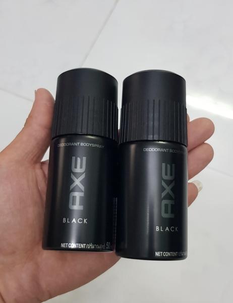 Xịt khử mùi toàn thân dành cho nam AXE chai 50ml black hương thơm nồng nàn nam tính