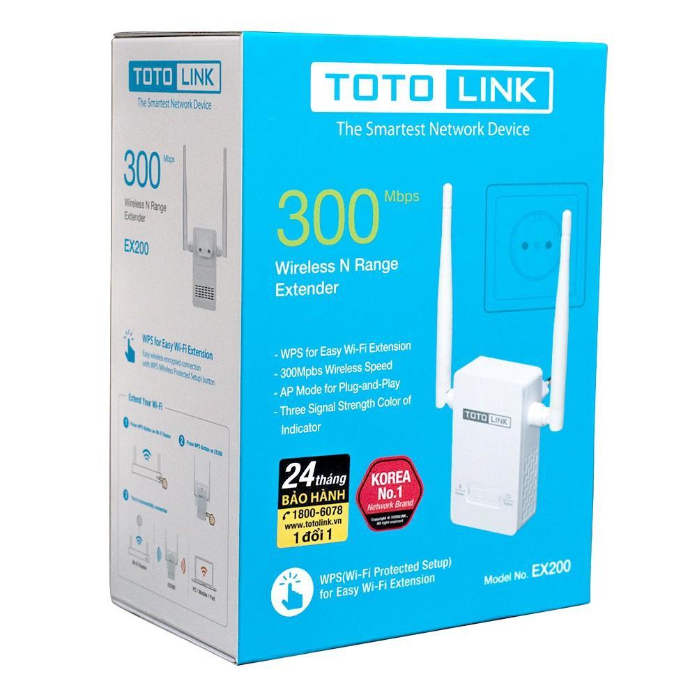 Giá Hot Duy Nhất tại Lazada Khi Mua Bộ Kích Sóng Wifi Totolink EX200