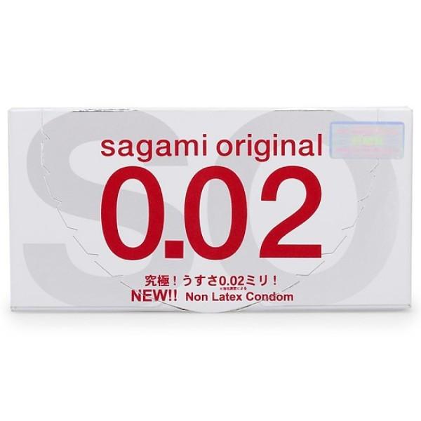Bao Cao Su Sagami 002 - Hộp 2 Cái