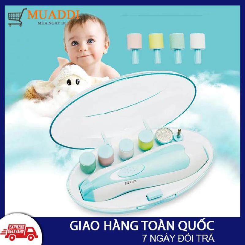 Bộ dụng cụ dũa móng tay cho mẹ và bé, bộ bấm móng tay, bộ cắt móng tay bằng điện, bộ dũa móng tay, máy dũa móng tay, dụng cụ cắt móng tay cho em bé, cắt móng tay cho trẻ sơ sinh dưới 3 tháng tuổi, trẻ sơ sinh
