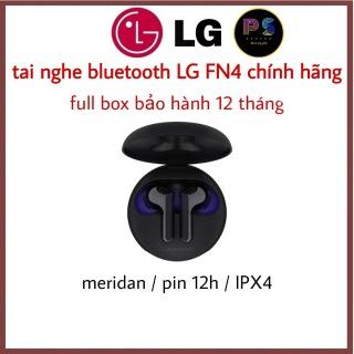Tai nghe TWS LG TONE FREE HBS-FN4 l Công nghệ Meridian l Bluetooth 5.0 l Chống nước IPX4 l HÀNG CHÍNH HÃNG thumbnail