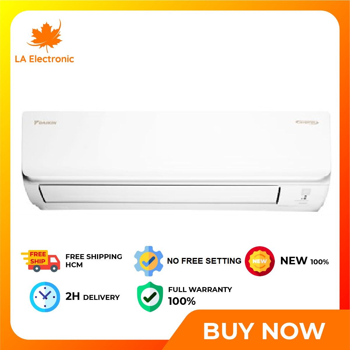 [GIAO HÀNG 2 - 15 NGÀY, TRỄ NHẤT 15.08] Trả Góp 0% - Máy lạnh Daikin Inverter 2.5 HP FTKA60UAVMV - Miễn phí vận chuyển HCM
