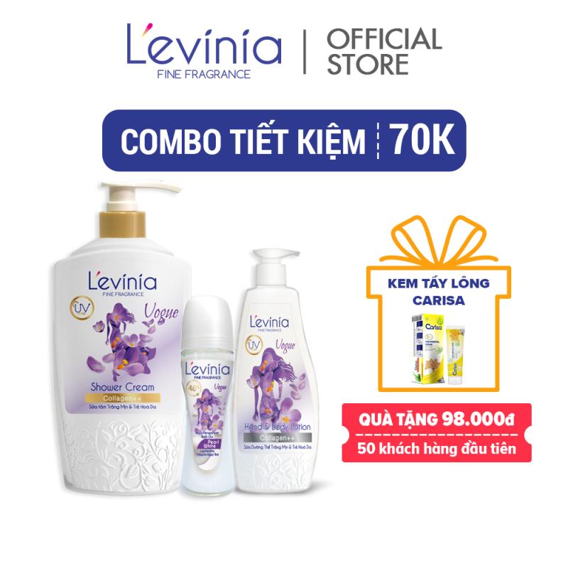 [Combo tiết kiệm 70k] Combo Quý Phái Vogue Levinia nhập khẩu