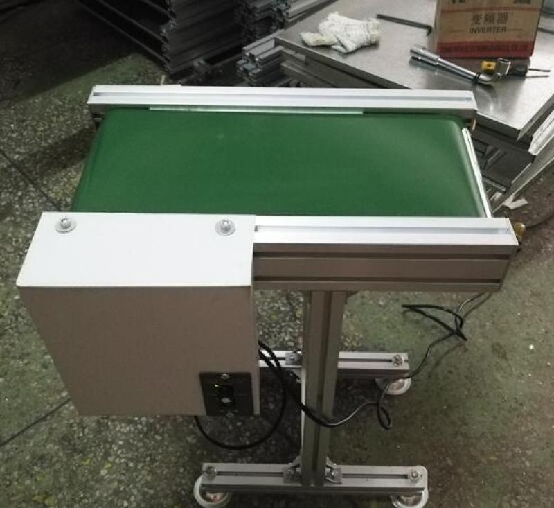 MINI  PVC conveyor belt adjustable height speed with controller box transmit