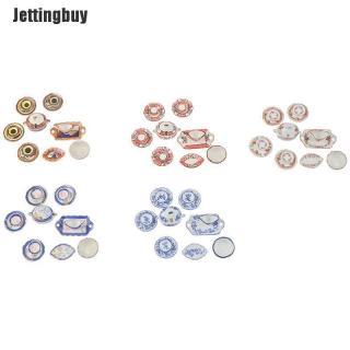 Jettingbuy Bộ Đồ Ăn Thu Nhỏ Nhà Búp Bê 1 12 13 Món Phụ Kiện Nhà Bếp Bằng Sứ thumbnail