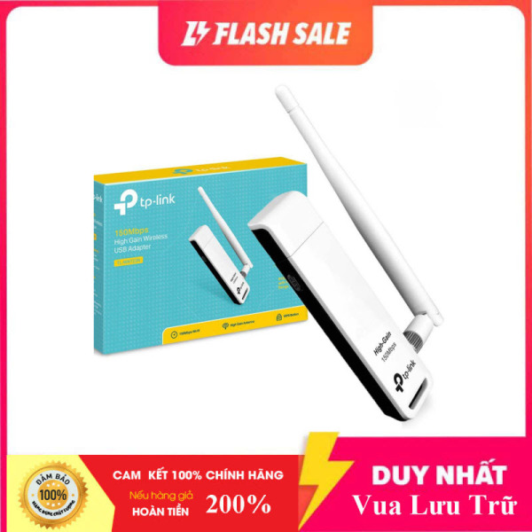 Bảng giá [Bán Lỗ 300 Cái] USB Thu Sóng Wifi Nhỏ Gọn Tp-Link TL-WN722N Chuẩn N Tôc Độ 150Mbps - Hàng Chính Hãng Phong Vũ
