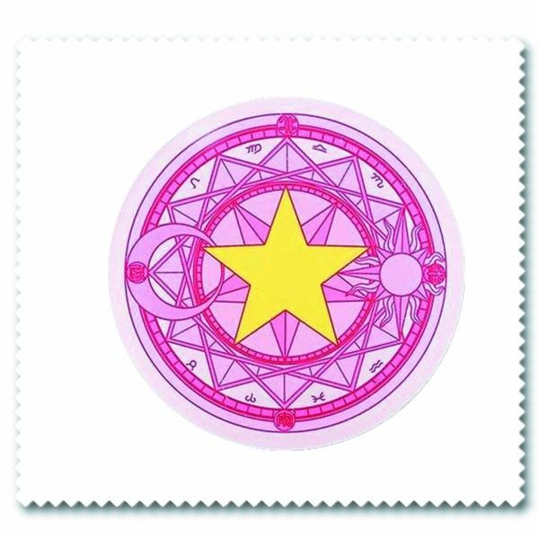 Giá bán Khăn lau kính IN HÌNH Sakura Cardcaptor Thủ lĩnh thẻ bài anime chibi quà tặng xinh xắn dễ thương