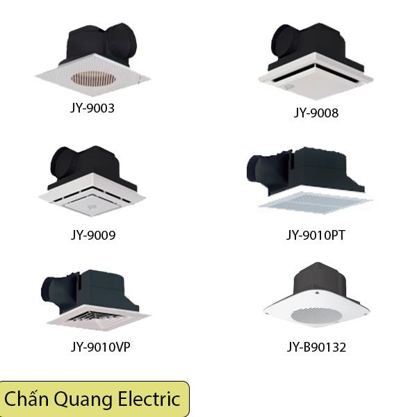 Quạt hút thông gió ( quạt hút âm trần ) đa dạng kiểu dáng kích thước , thương hiệu JYE