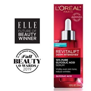 [Lấy mã giảm thêm 30%]Serum sáng da và giảm nhăn hiệu quả Loreal Revitalift Derm Intensives 30ml thumbnail