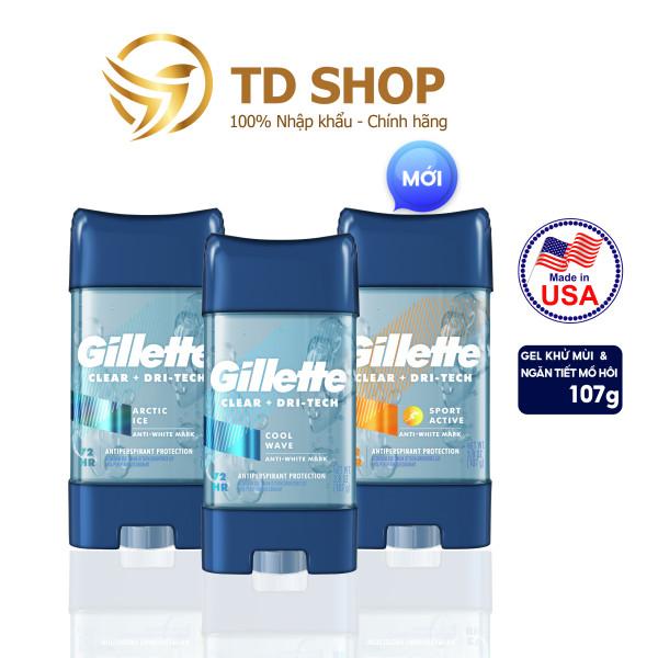 Lăn Khử Mùi Gillette Clear Gel 107g Coolwave I Artice ice I Sport triumph - TD Shop