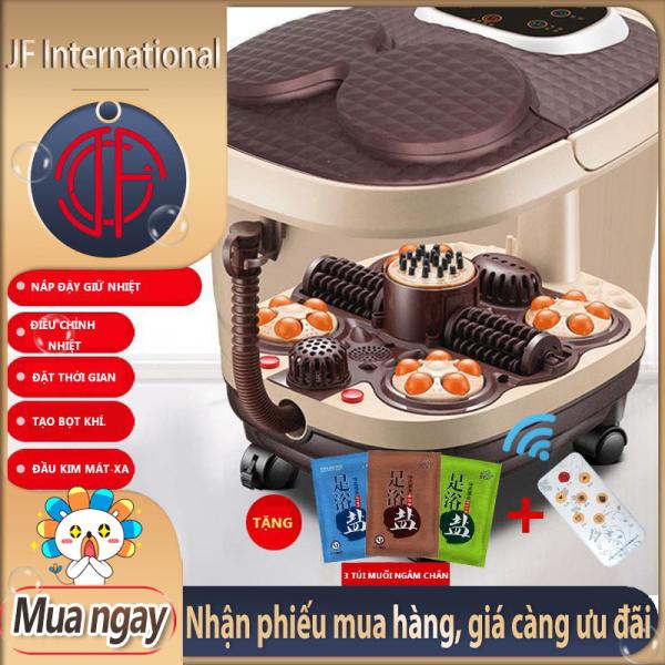 [HCM]Máy ngâm chân massage hiệu KAIMEIDI xoa bóp bàn chân tự động thêm cân bằng nhiệt bản mới nhất - JF International