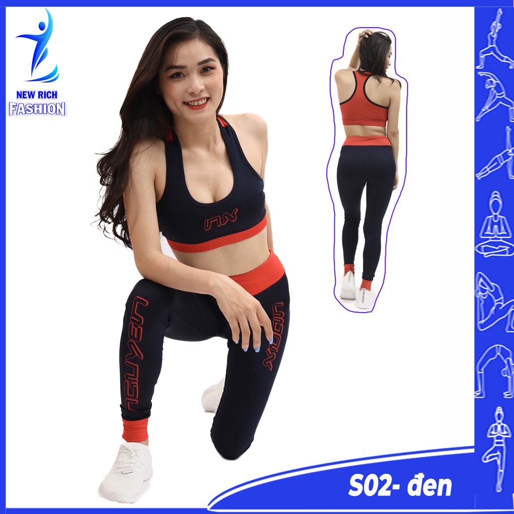 Đồ tập gym nữ cao cấp thiết kế chuyên dụng, chất vải co giãn 4 chiều, thấm hút mồ hôi tốt