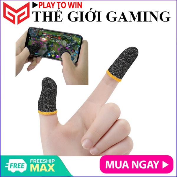 [ MUA 5 TẶNG 1 ] Bao tay chơi game, Găng tay chơi FF, PUBG, Liên quân Mobile chuyên nghiệp, chống ra mồ hôi tay, tăng độ nhạy- Hãng phân phối chính thức