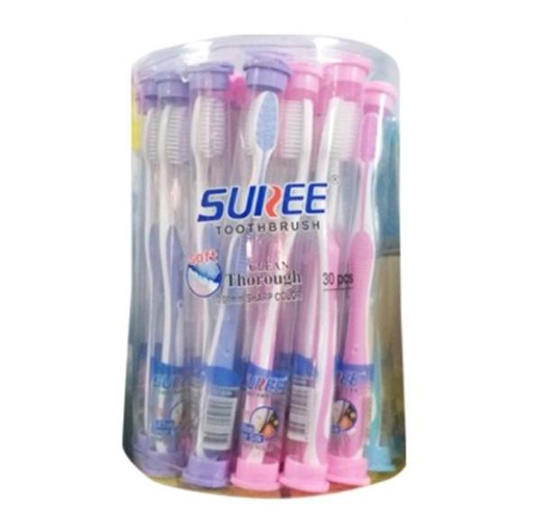[HCM]10 bàn chải lông mềm cao cấp SUNREE Thái Lan