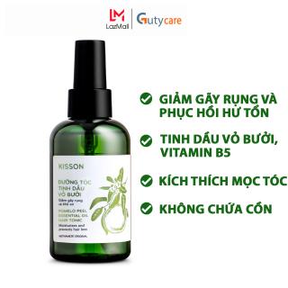 Xịt dưỡng tóc tinh dầu vỏ bưởi giúp phục hồi hư tổn, giảm gãy rụng và kích thích mọc tóc KISSON 145ml - Guty Care thumbnail