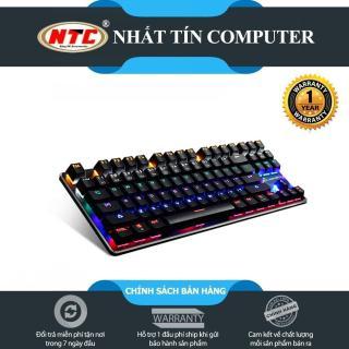 Bàn phím cơ blue switch FL Esports K191 loại 87 phím - 13 chế độ LED (Đen) - Nhất Tín Computer thumbnail