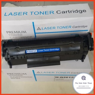 Hộp mực in HP 12A Black LaserJet Toner Cartridge (Q2612A)1018305030523055M1005M1319f101010121022 (Đã có VAT) thumbnail