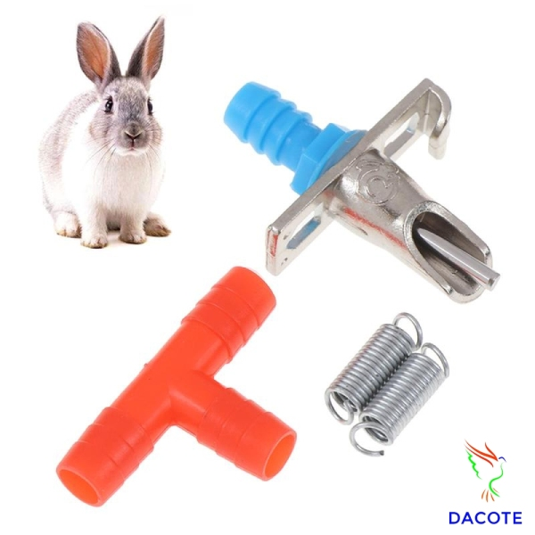 Van uốn nước cho thỏ tự động dễ dàng lắp đặt chất liệu an toàn DACOTE