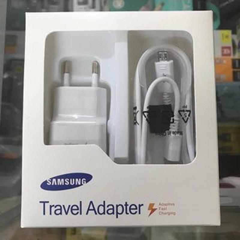 Giá Bộ Sạc Samsung 5V-2A Gồm Củ zin và Cáp Sạc zin 1,5m, Sạc Siêu Nhanh, Cực Bền