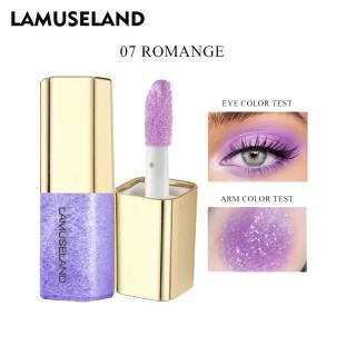 LAMUSELAND Liquid Eye Shadow 8 Colors Glitter LA4004 thumbnail