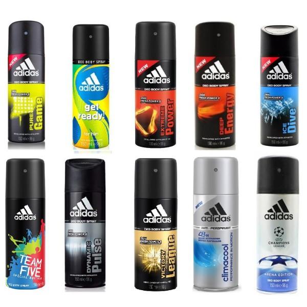 Xịt khử mùi nam Adidas Deo Body Spray 150ml