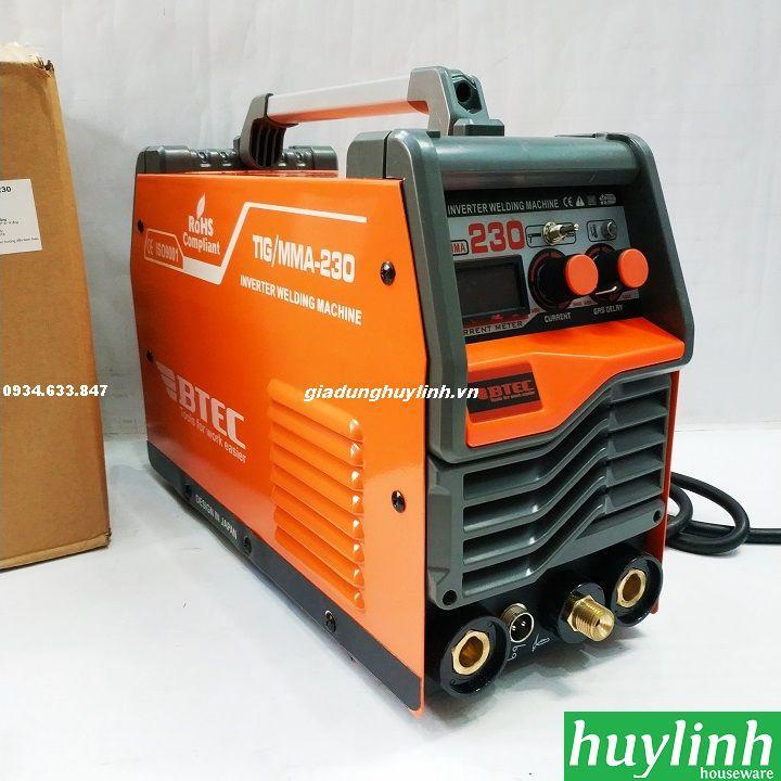 Máy hàn điện tử BTEC Tig/MMA-230 - Hàn que, inox