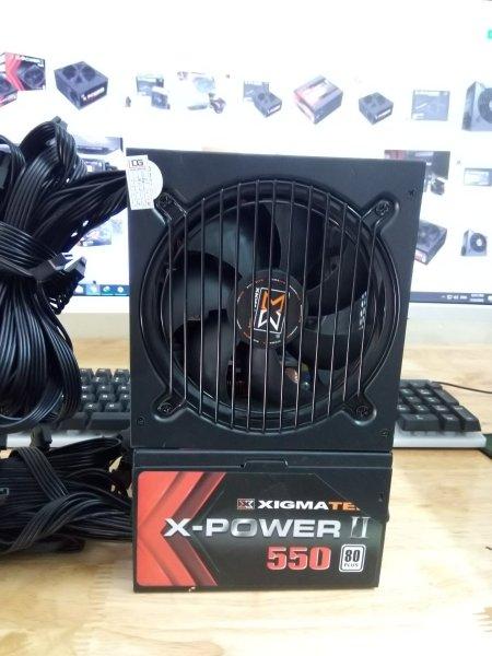 Giá Nguồn máy tính 500w xigmatek X550 cực trâu nguồn phụ 8 pin