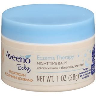 AVEENO Baby Eczema Therapy Night Balm - 1oz (Hũ) thumbnail