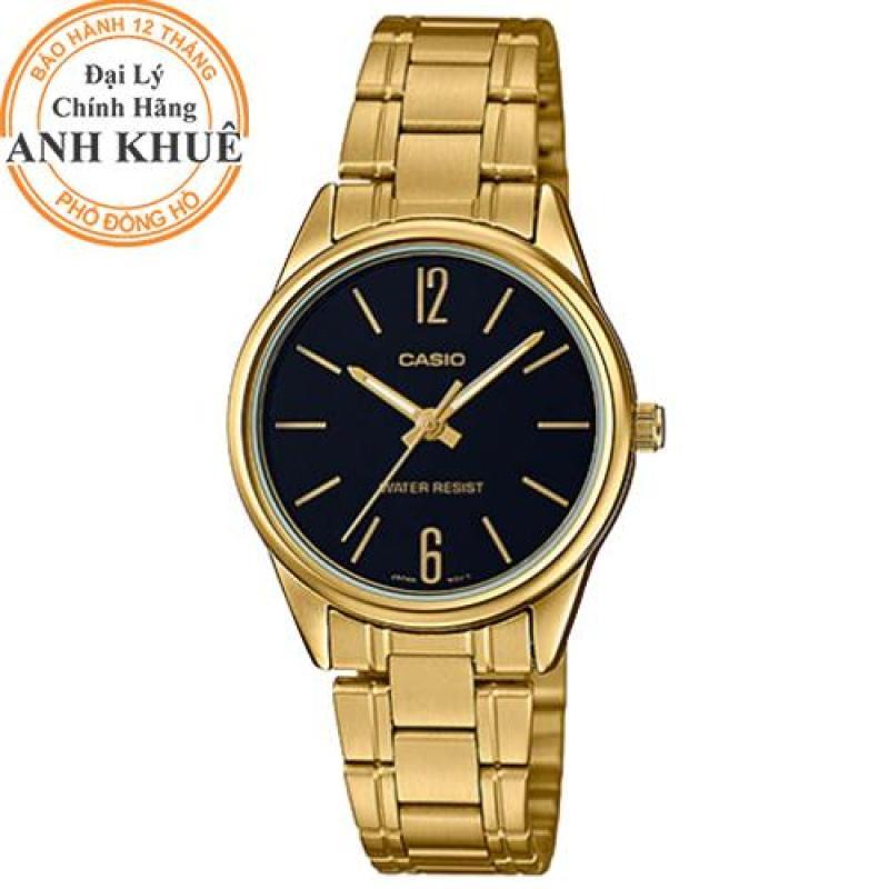 Đồng hồ nữ Casio Anh Khuê LTP-V005G-1BUDF