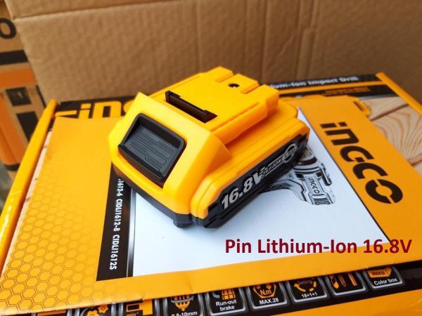 Pin Lithium 16.8V  1.5Ah Ingco FBLI16151