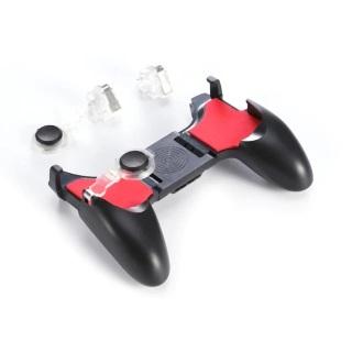 Tay cầm chơi game 5in1 - Hỗ trợ cực tốt những game Liên quân Mobile, CrossFire, PUBG, Rule of Survival, Free Fire, Modern Combat - Tương thích với tất cả các điện thoại di động có kích thước từ 4 6,4 inch thumbnail