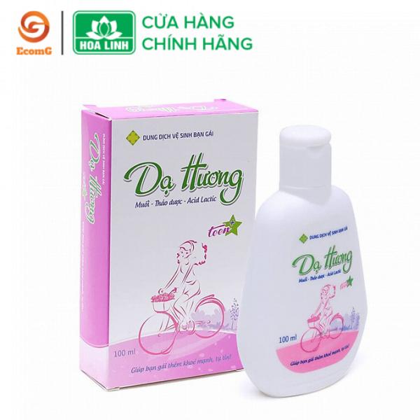Dung dịch vệ sinh phụ nữ Dạ Hương for teen 100ml- Dạ Hương bạn gái(Dạ Hương Teen) chuyên dùng cho bạn gái mới lớn từ 12-18 tuổi - DH3-01