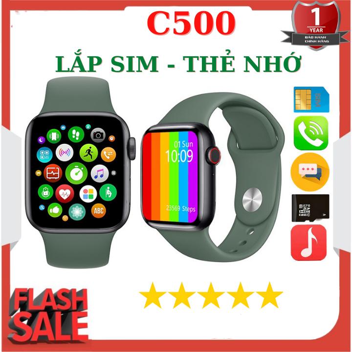 Đồng hồ thông minh Z6 ( C500 ) lắp sim nghe gọi 2 chiều-theo dõi sức khỏe-Máy Ảnh Màn Hình Cảm Ứng Hỗ Trợ Đồng Hồ Cho Nam, Nữ