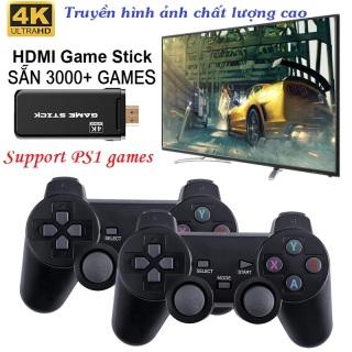 [Tặng kèm thẻ nhớ TF 32Gb] Máy chơi gamer cầm tay 4 nút Game PlayStation 1, CPS SFC FC GBA GB GBC MD PS1 Hơn 3000 Trò Hỗ trợ phân giải 4k - Máy chơi gamer điện tử thumbnail