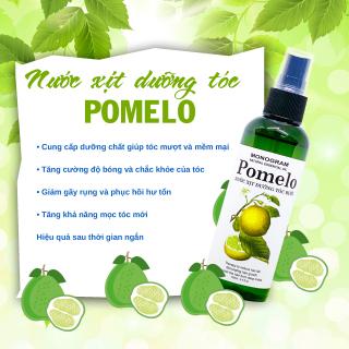 Xịt bưởi dưỡng tóc Pomelo giảm rụng tóc, giúp mọc tóc nhanh 100ml thumbnail