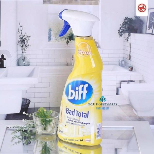 Nước tẩy rửa - vệ sinh nhà tắm Biff Bad total 750ml