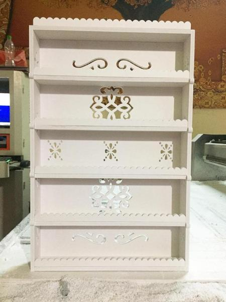 Kệ đựng sơn treo tường mini 60x40 giá rẻ