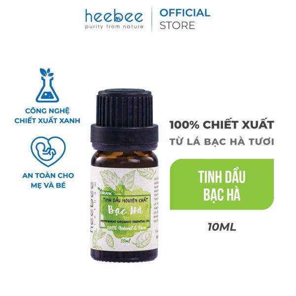 Tinh dầu Bạc hà Heebee chiết xuất từ 100% bạc hà thiên nhiên, nguyên chất 10ml giá rẻ