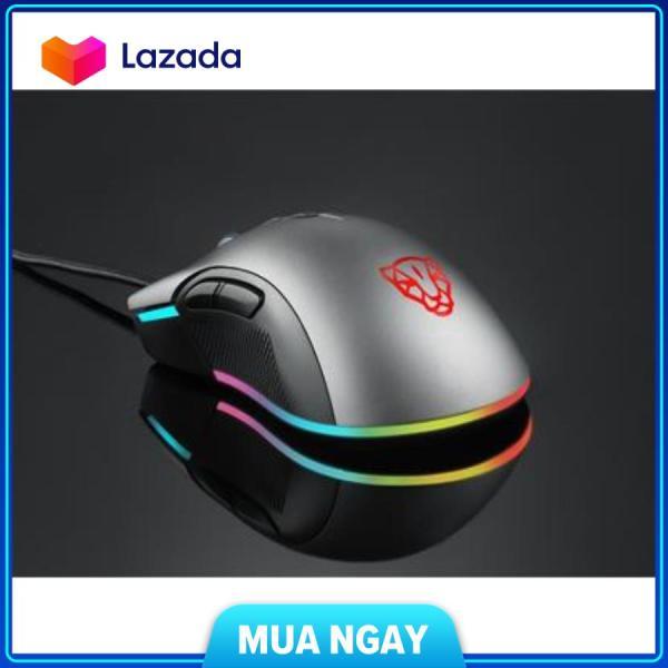 Bảng giá Chuột Motospeed v70 (pw3325) new rgb gaming mouse có LED thay đổi theo dpi xám cam kết hàng đúng mô tả chất lượng đảm bảo an toàn đến sức khỏe người sử dụng đa dạng mẫu mã Phong Vũ