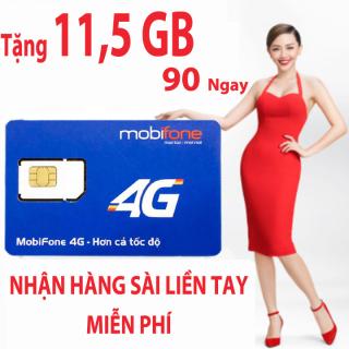 Sim 3G 4G Mobifone - Sim Độc Quyền Gói F150 - Sim Data Vào Mạng - Trọn Gói 3 Tháng Không Cần Nạp Tiền thumbnail