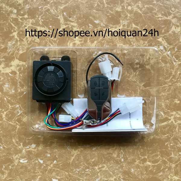 Phân phối Bộ chống trộm Xe Điện kết nối Bluetooth dùng điện thoại mở khoá