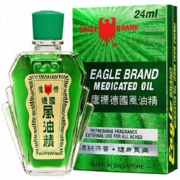 [TẶNG FREE 20K SHIP + QUÀ TẶNG]Dầu Gió Xanh 2 Nắp Sư tử Singapore - Imperial Harbour Medicated Oil