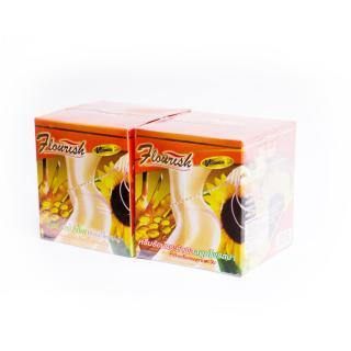 Bộ 2 hộp kem tan mỡ bụng gừng ớt Flourish Thái Lan thumbnail