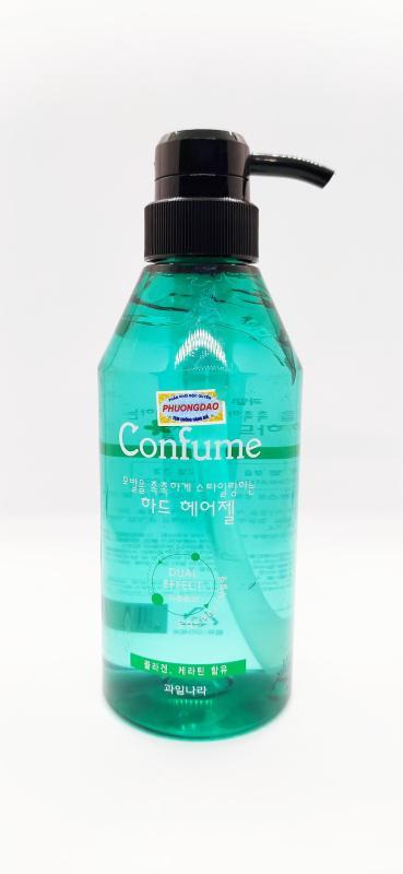 Gel đặc siêu cứng, khô nhanh giữ lọn tóc xoăn Confume Hair Gel Hàn Quốc 400ml nhập khẩu