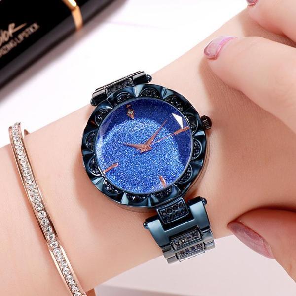 Nơi bán Đồng hồ nữ GEDI SEA  Sang chảnh - Sơn tĩnh điện cực bền màu + Tặng Hộp & Pin