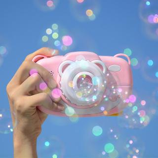 Máy ảnh thổi bong bóng có nhạc và đèn siêu dễ thương cho bé 2