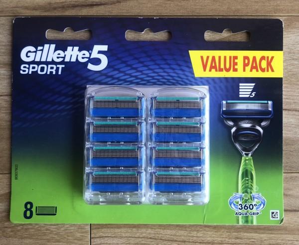 Hộp 8 lưỡi dao cạo râu Gillette Fusion Proshield/Fusion Proglide/Gillette Fusion